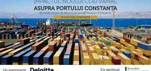 Impactul Noului Cod Vamal asupra Portului Constanta