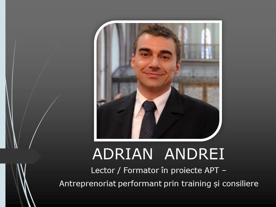 Adrian Andrei Conferinta antreprenoriat