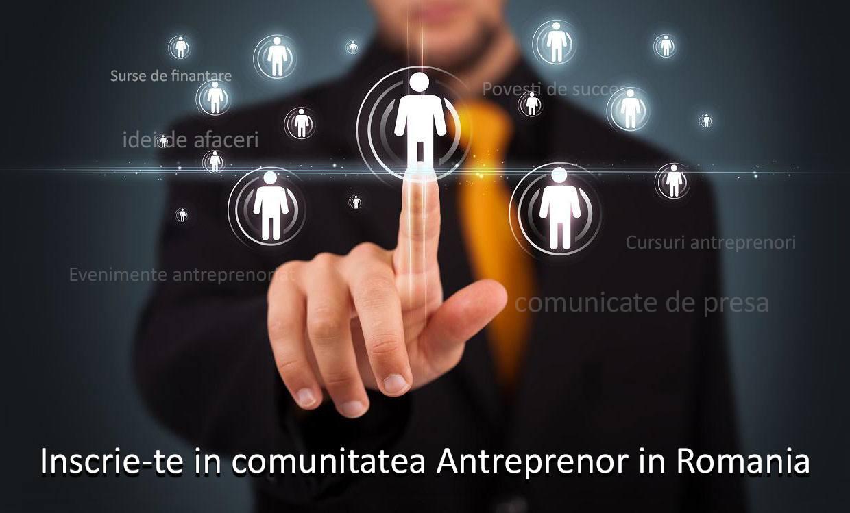 Lansare concept unic Antreprenor in Romania