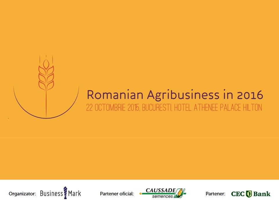 Agri Business 2015 eveniment
