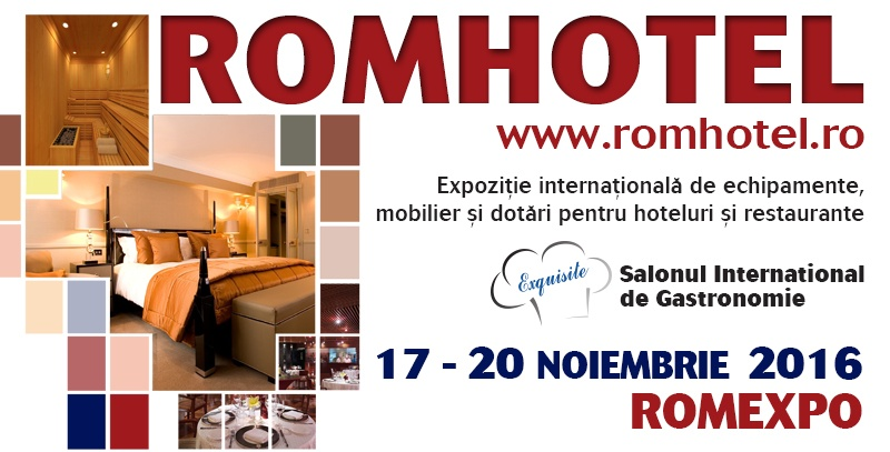 Romhotel 2016 eveniment Romxpo