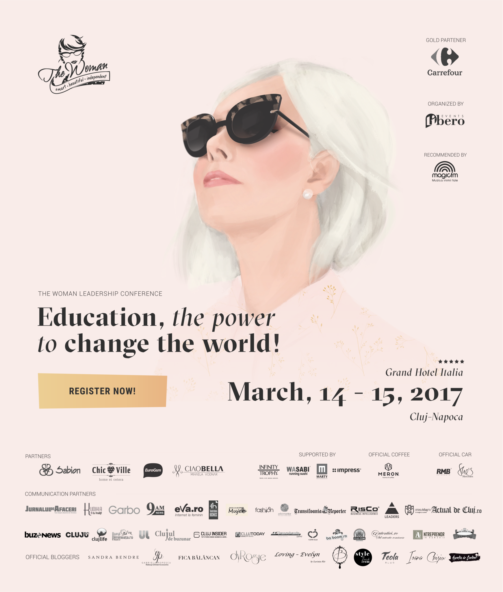 The Woman 2017 eveniment leadership feminin