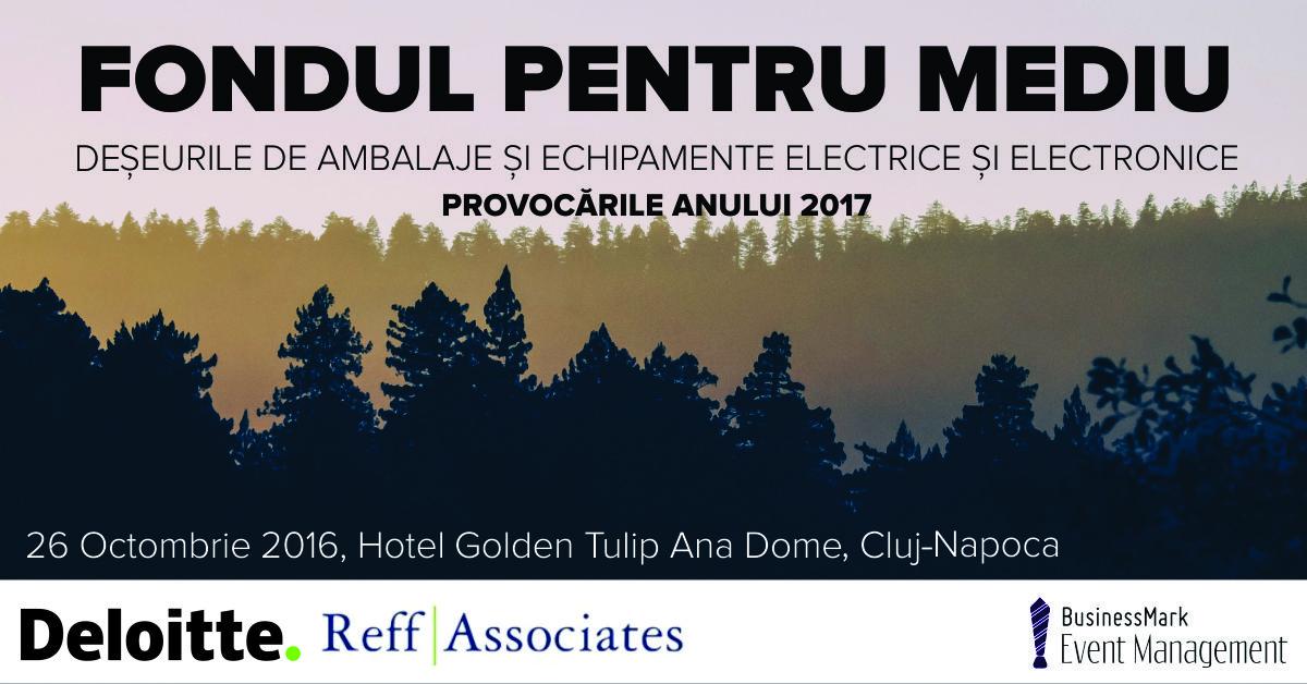Fondul pentru mediu Delloite Cluj