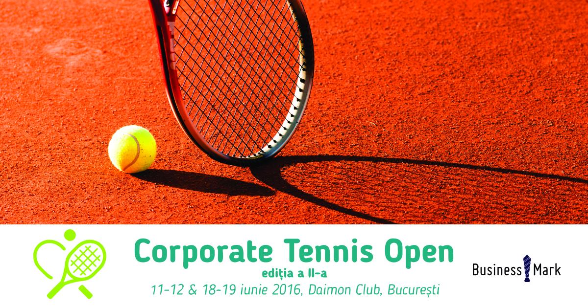 Eveniment Corporate Tennis