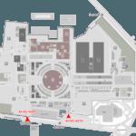 Harta acces INDAGRA 2016