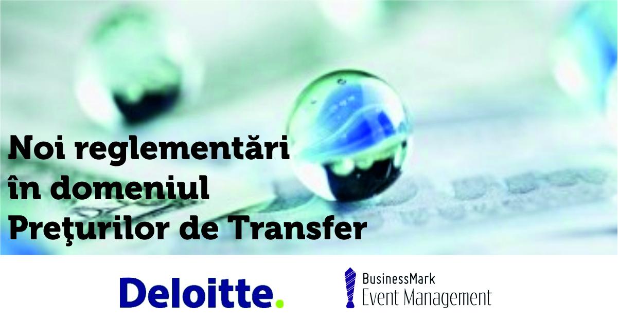 Preturi de transfer Delloite eveniment