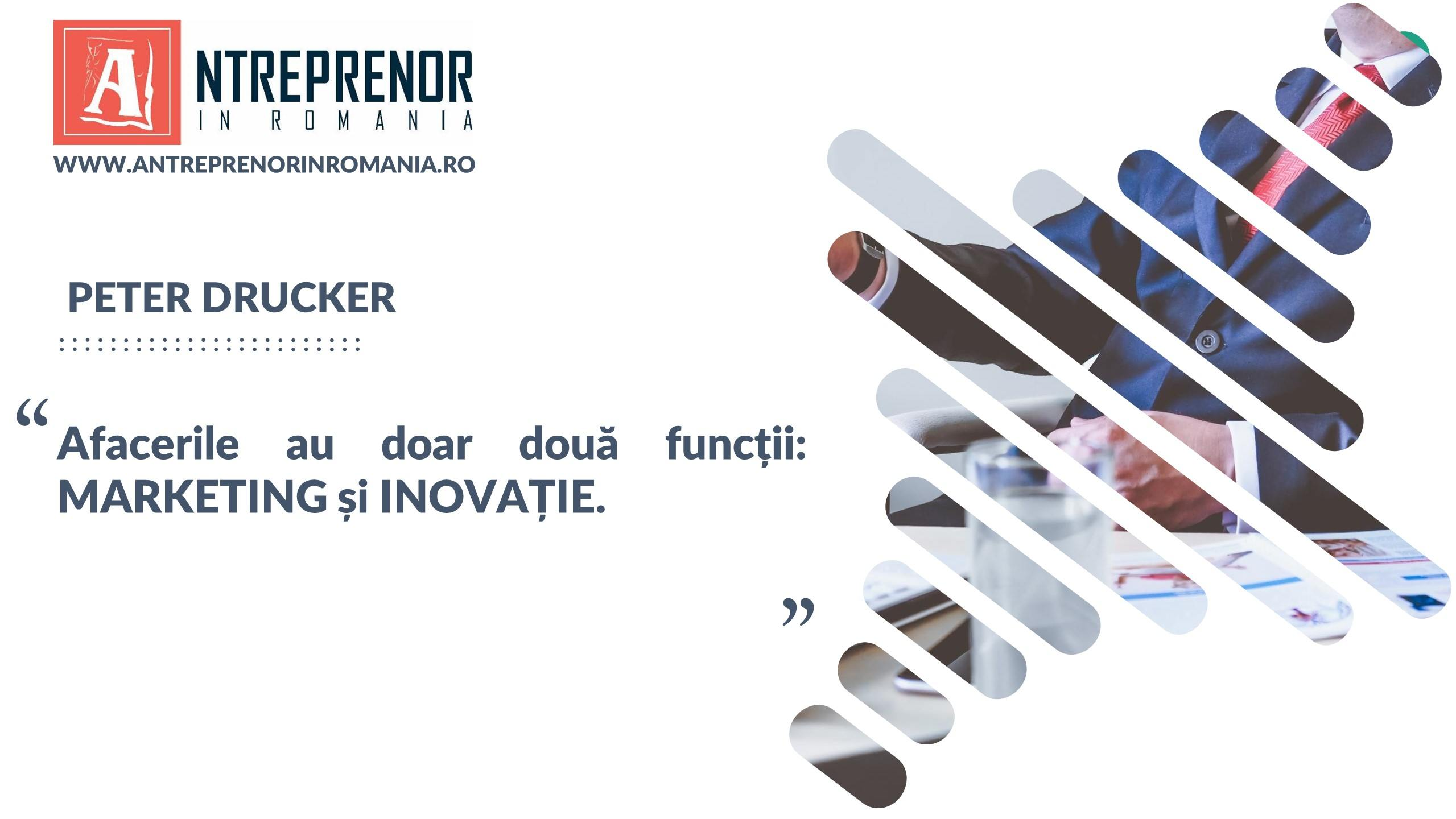 Citat afaceri Peter Drucker