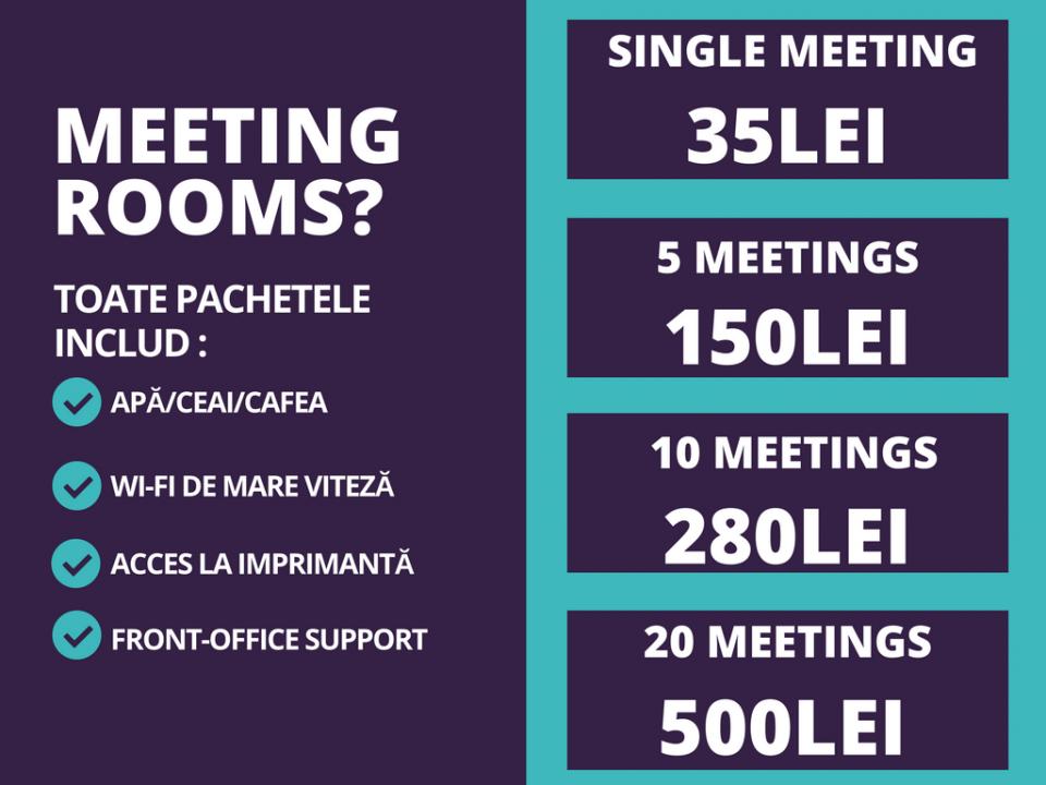 Progressio HUB Meeting Rooms