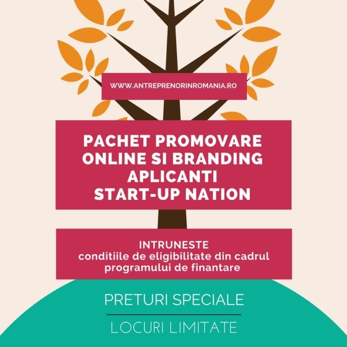 Pachet promovare online si branding Start-UP Nation Romania