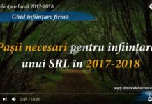 Ghid infiintare firma 2017-2018