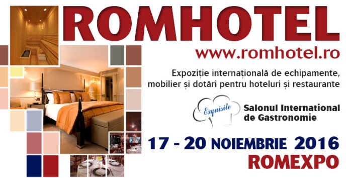 Romhotel 2016 eveniment Romxpo