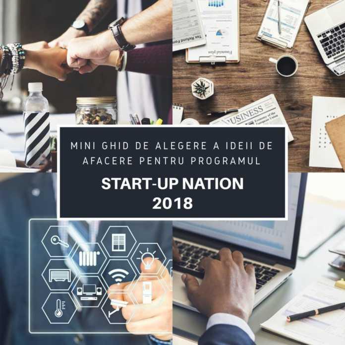 Mini Ghid Start-UP Nation 2018