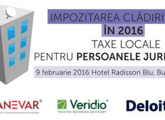 Impozitare Eveniment 2016