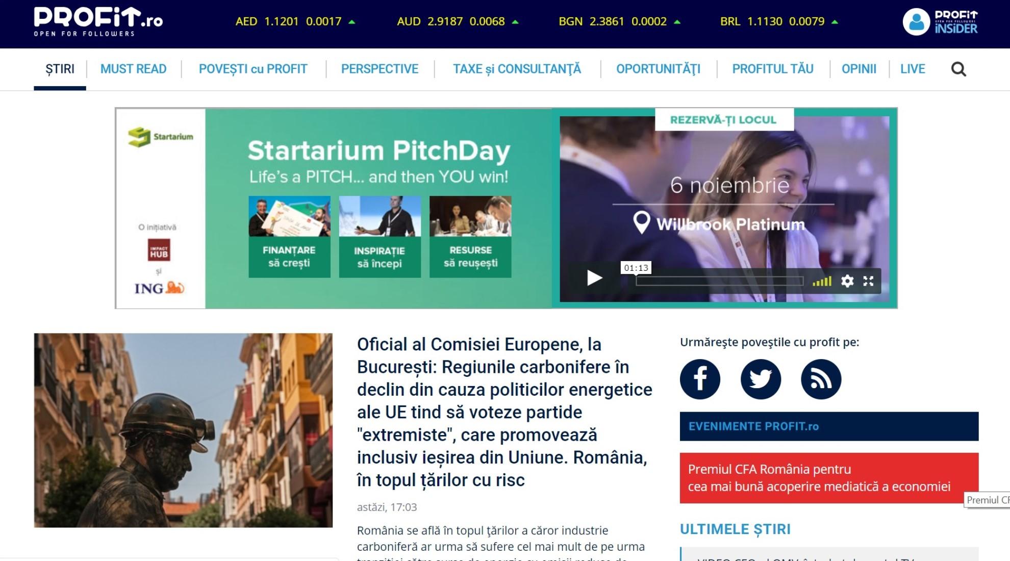 Cele mai importante informații economice pe PROFIT.ro