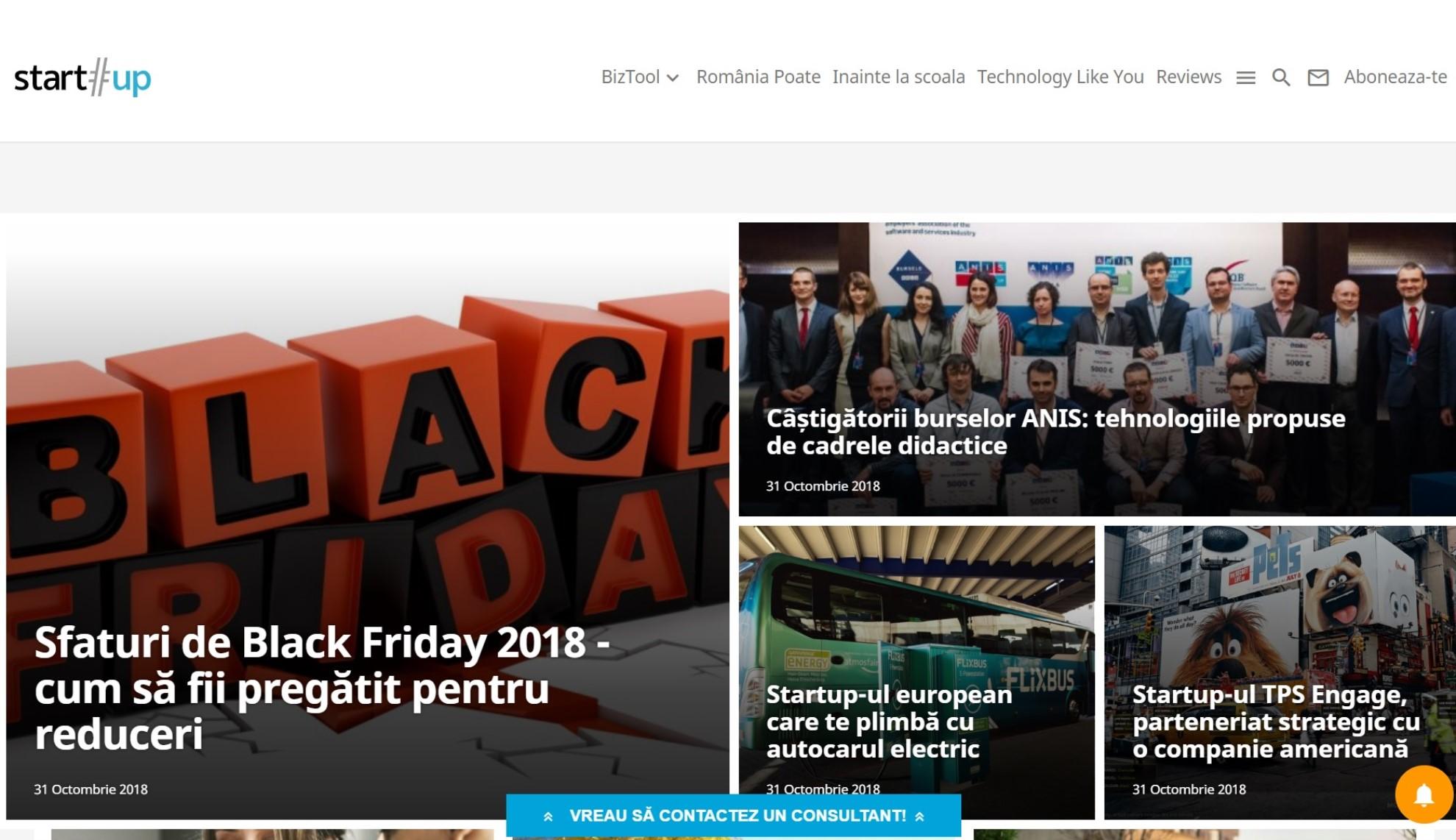 start-up.ro: De vorbă cu și despre startup-uri