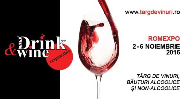 EXPO Drink and Wine targ de vinuri Romexpo