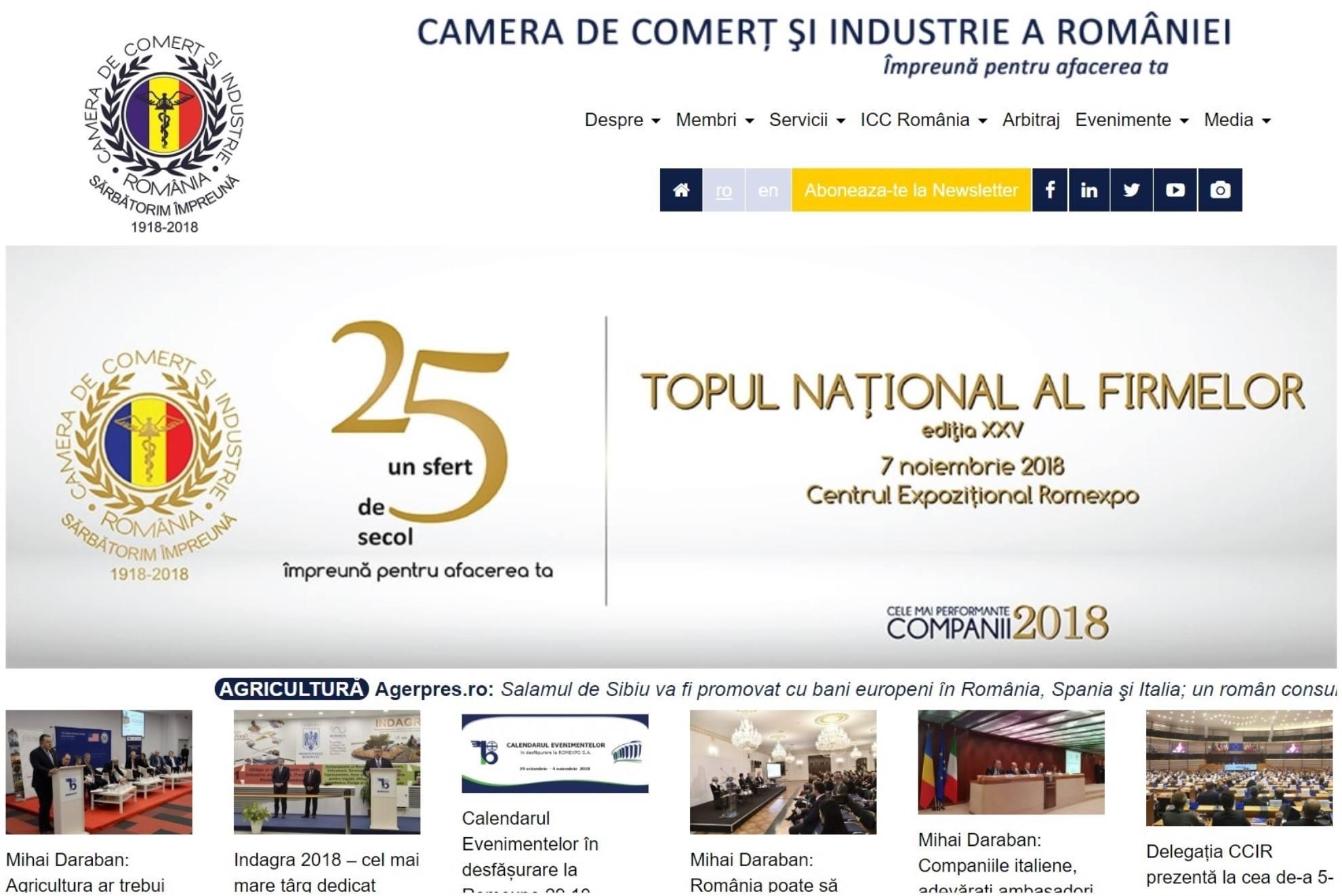 Camera de Comerț și Industrie a României - CCIR