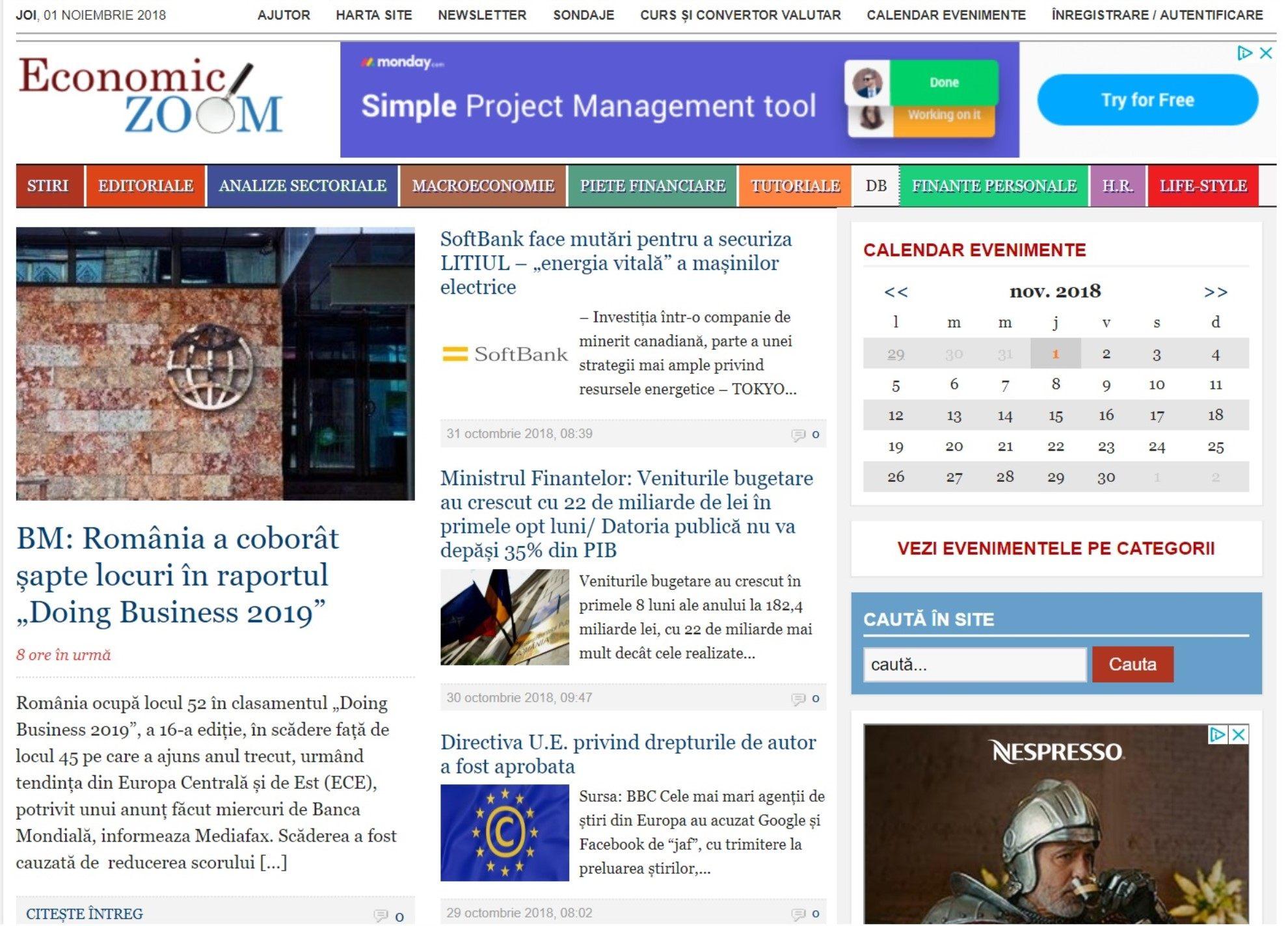 Economic Zoom - Portal Economic, Financiar și de Afaceri