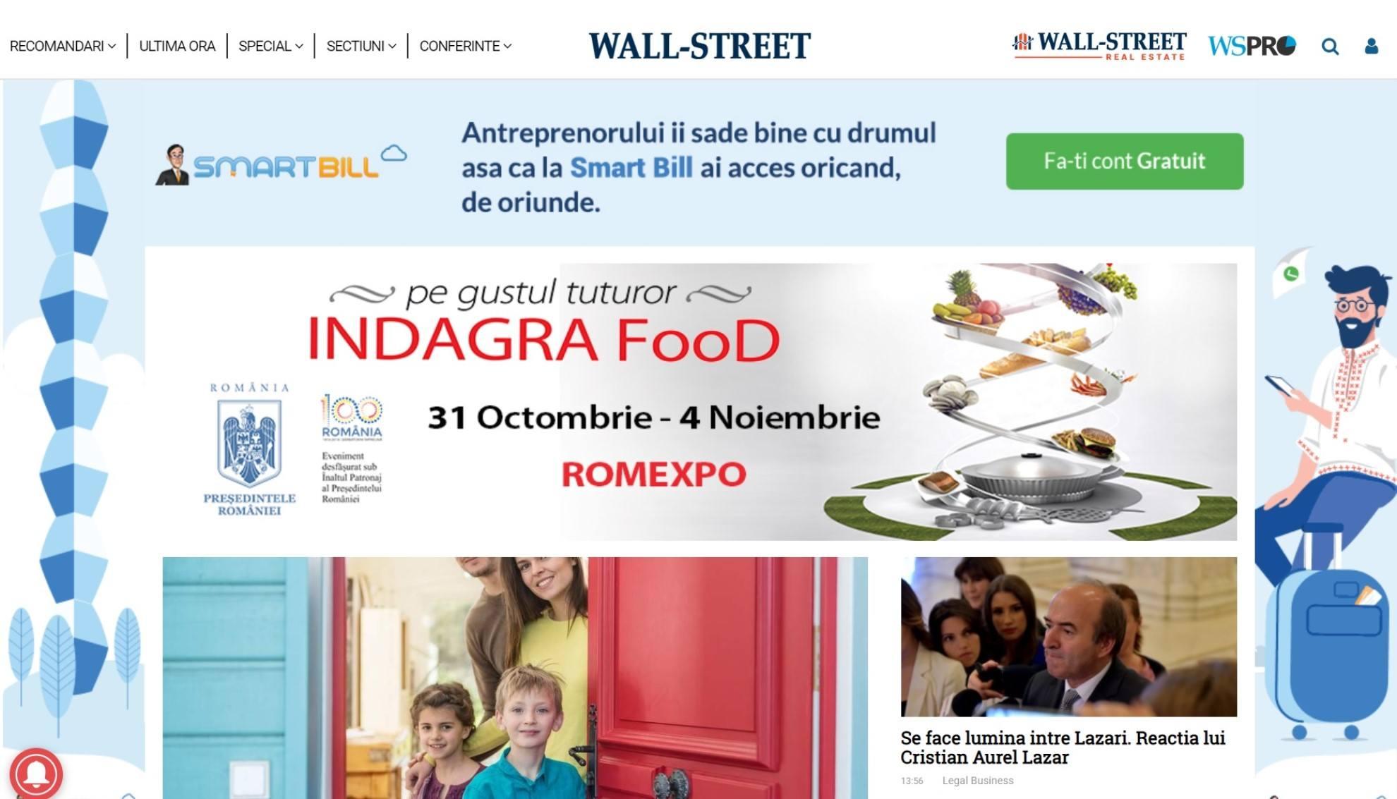 Wall-Street.ro: ultimele stiri online din economie si afaceri