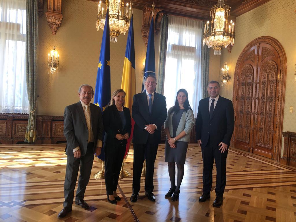 Întâlnirea președintelui CNIPMMR, Florin Jianu, cu  Președintele României, domnul Klaus Iohannis