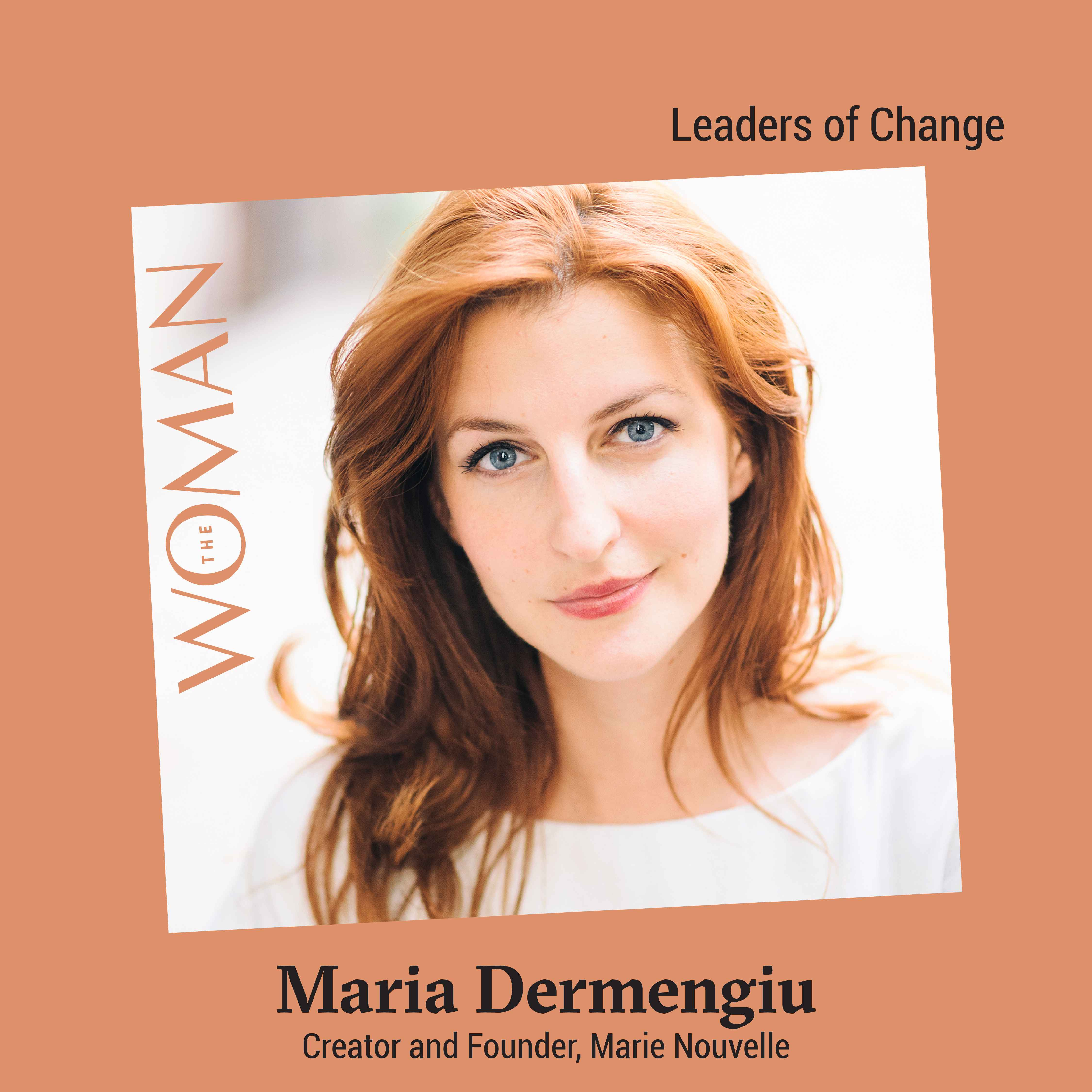 Maria Dermengiu The Woman
