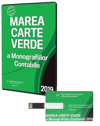 Marea Carte Verde a Monografiilor Contabile 2019 - Stick USB