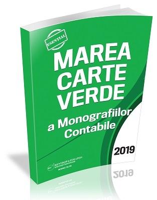 Marea Carte Verde a Monografiilor Contabile 2019 (var tiparita)