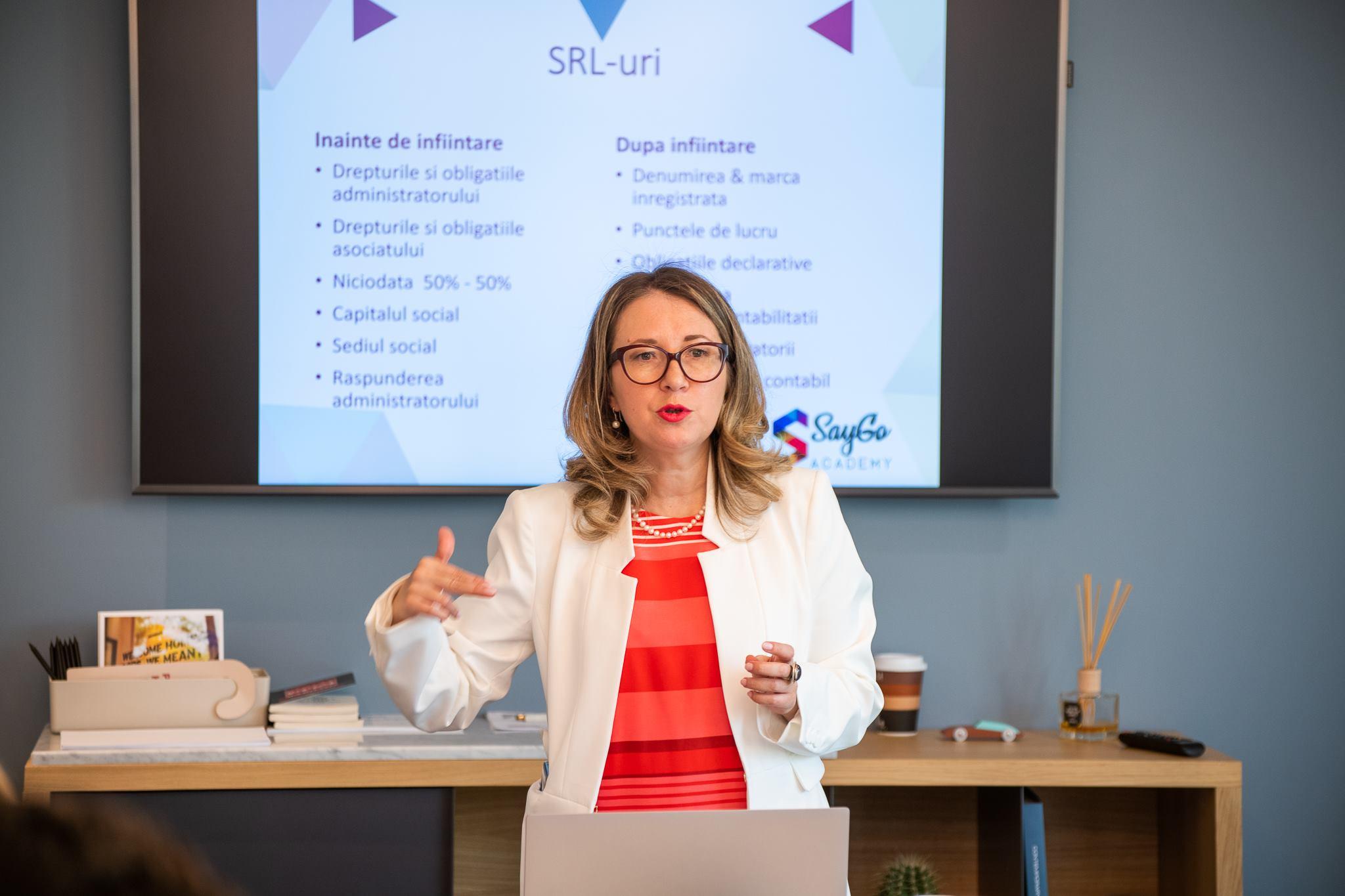 Valentina Saygo curs antreprenori