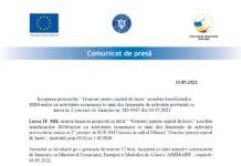 Comunicat de presa incepere proiect granturi capital de lucru LUCCA IT